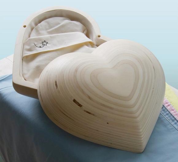 Grafkistje voor een prematuur baby